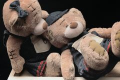 Плюшевые медвежоата Стоковая Фотография RF