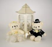 Плюшевые медвежоата Wedding Стоковые Фото