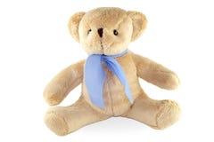 Плюшевый медвежонок игрушки изолированный на белой предпосылке Стоковое Фото