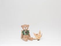 Плюшевый медвежонок игрушки Стоковое фото RF