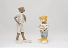 Плюшевый медвежонок игрушки Стоковое Фото