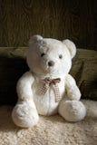 Плюшевый медвежонок на кресле Стоковая Фотография RF