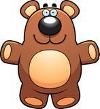 Плюшевый медвежонок шаржа Стоковая Фотография RF