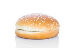 Плюшка гамбургера Стоковое Фото