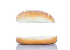 Плюшка гамбургера Стоковые Изображения