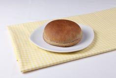 Плюшка гамбургера Стоковые Фото