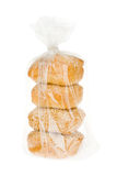 Плюшка пшеницы с семенами сезама в пакете волдыря Стоковое Изображение RF