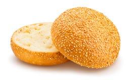 Плюшка сандвича Стоковые Изображения