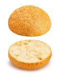 Плюшка сандвича Стоковое Изображение