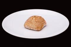 Плюшка сандвича Rye с хлопьями Стоковое фото RF