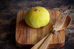 Плюшка тыквы домодельного хлеба с сезамом Стоковое фото RF