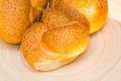 плюшки завтрака свежие Стоковые Фото