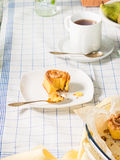Плюшки крена для завтрака Стоковое Изображение