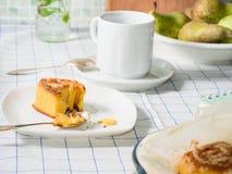 Плюшки крена для завтрака Стоковые Фотографии RF