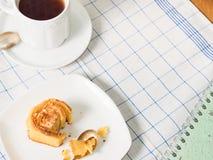 Плюшки крена для завтрака Стоковое фото RF