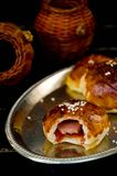 Плюшки обедающего пахты, Стоковое фото RF