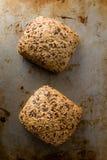 Плюшки сандвича Брайна Стоковая Фотография