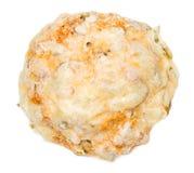 Плюшки сыра (isoalted на белизне) Стоковые Фотографии RF