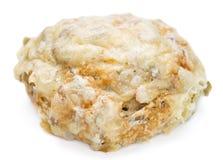 Плюшки сыра (isoalted на белизне) Стоковые Изображения