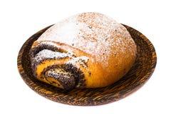 Плюшки с маковыми семененами и сахаром замороженности Стоковые Фотографии RF