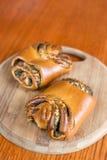 Плюшки с маковыми семененами Стоковые Фотографии RF