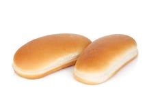 2 плюшки хот-дога Стоковые Фотографии RF