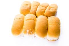 Плюшки хот-дога Стоковые Изображения