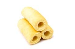 Плюшки хот-дога Стоковое Изображение