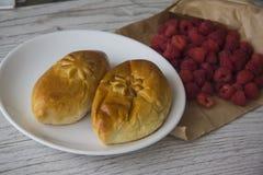Плюшки для завтрака Стоковое Изображение RF