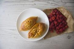 Плюшки для завтрака Стоковые Фотографии RF