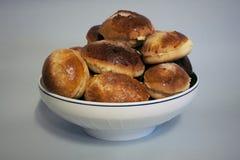 Плюшки для завтрака Стоковое Фото