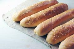 Плюшки для хот-дога Стоковое Фото
