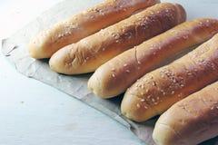 Плюшки для хот-дога Стоковая Фотография