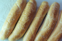 Плюшки для хот-дога Стоковые Фото