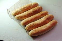 Плюшки для хот-дога Стоковые Изображения