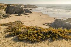 Пляжи Алгарве Стоковое Изображение RF