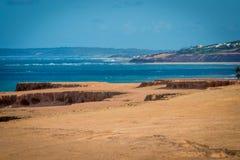 Пляжи Бразилии - пипы, Риу-Гранди-ду-Норти Стоковая Фотография RF