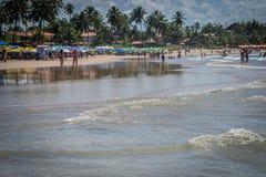 Пляжи Бразилии - Порту de Galinhas Стоковые Фотографии RF
