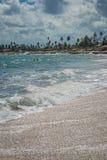Пляжи Бразилии - Serrambi, Pernambuco Стоковое фото RF