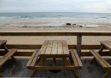 Пляжи и стенды стоковые изображения rf
