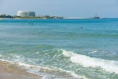 Пляжи на береговой линии Стоковое фото RF