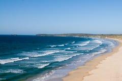 Пляжи песка, Корнуолл, Англия Стоковое Фото