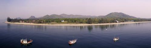 Пляжи Таиланда Стоковое Изображение RF