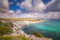 Пляжи Alacati Стоковые Фото