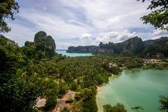 Пляжи Railay, Таиланд Стоковое Изображение RF