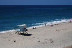 Пляжная сторожевая башня стоковая фотография rf