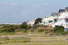 Пляжные домики каникул Стоковые Изображения RF