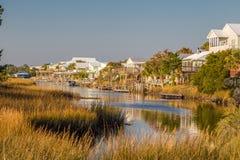 Пляжные домики Стоковое фото RF