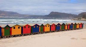 Пляжные домики Стоковая Фотография RF