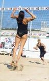 Пляжный волейбол roma игры Стоковое Изображение